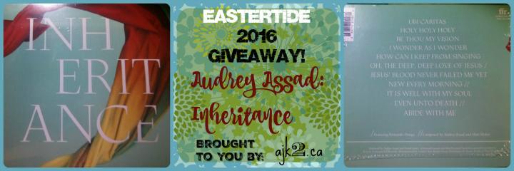 Audrey Assad Giveaway - FI